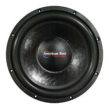 """NEW AB 15"""" SVC Subwoofer Bass.Replacement.Speaker.4ohm Sub.woofer.1000w.15inch"""