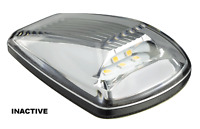 LED SIDE DIRECTION INDICATOR LIGHT with CLEAR LENS CAT 6 - 77ACM2