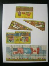 FISHER PRICE PLAY FAMILY LITTLE PEOPLE Jet AIRPORT AIRPLANE #996 LITHOS STICKERS