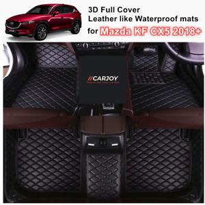 3D Waterproof Full cover Car Floor Mats for Mazda CX-5 Feb/2017 - Current 2021
