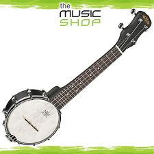 New Kala Soprano Open Back Banjo Ukulele with Bag - KA-BNJ-BK-S