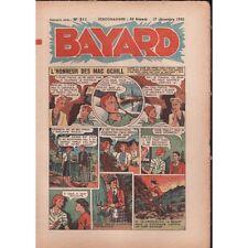 BAYARD L'Honneur des Mac Ochill et Le Lion des Cévennes Hebdo 17 Déc. 1950 N°211