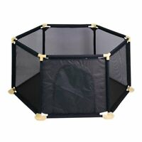 Folding Portable Playpen Baby Play Yard With Travel Bag Indoor Outdoor Safety BE