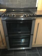 Zanussi Free Standing Cooker Double Oven And Ceramic Hob Electric