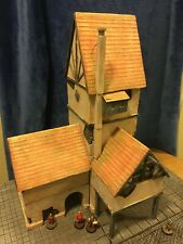 Wargaming Terrain, Warhammer, Dungeons and Dragons: Factory, Large Building