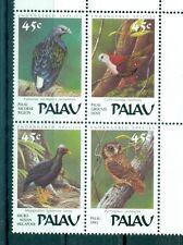OISEAUX INDIGENES - NATIVE  BIRDS PALAU 1989