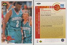 NBA UPPER DECK 1994 COLLECTOR'S CHOICE - Larry Johnson #205 - Ita/Eng - MINT