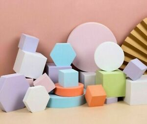 Photography Shooting Props Cube Photo Foam Geometric Stereo Cube Backdrops Pose