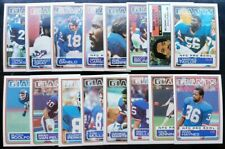 1983 Topps Football Team Sets Rookies and Stars NM - MINT
