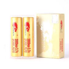 2 x IMREN® 18650 Rechargeable 3000 mAh 30A/45A Li-ion Battery
