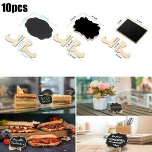 Sign Blackboards With Stands Table 10PCS Boutiques Buffets Chalkboards