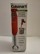 Cuisinart CSB-75R Smart Stick 2-Speed Immersion Hand Blender, Red