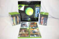 NEW 2003 Xbox Video Game System Console w/Cords, 2 Controllers + 22 XBOX Games