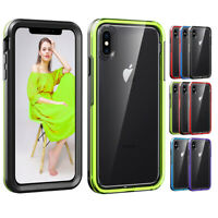 Fashion Slim Clear Silicone Case Cover For Apple iPhone XS Max XR 8 7 6 6s Plus