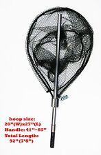 KUFA SPORTS FC7052 Retractable Al Landing Net with Rubberized Mesh (FC7052)
