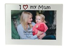 I Love My Mum Photo Picture Frame Mother's  Day Birthday Christmas Mummy Gifts