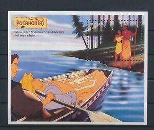 LO29246 Guyana Pocahontas disney good sheet MNH