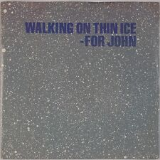 YOKO ONO: Walking on Thin Ice USA GEFFEN John Lennon 45 w/ PS NM-