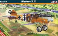 ALBATROS D.III (RAF, POLISH, FRENCH, LITHUANIAN, TURKISH MKGS) 1/48 MISTERCRAFT