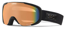 GIRO Field Black Deco Persimmon Blaze Mirror Women's Ski Googles / $150