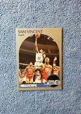 1990-91 NBA Hoops Sam Vincent #223 Michael Jordan Wears #12 Error Chicago Bulls