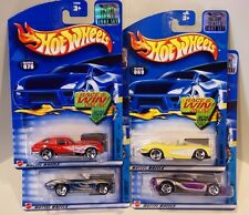 2002 Hot Wheels RLC/HWC Factory Sealed Corvette Series '65,'97,'63,'58 Vette