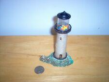 New listing Vintage Plastic Fish Aquarium Lighthouse Decoration Sternco, Hong Kong