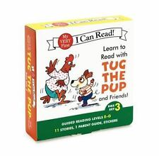 Learn to Read with Tug the Pup and Friends! Box Set 3: Levels Included: E-G (My