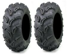Pair of Maxxis Zilla ATV Mud Tires 22x10-9 (2)