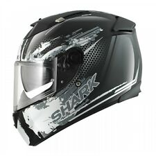 Shark Speed-R Duke Motorcycle Helmet Black / White XS 53-54 cm RRP $549.00