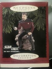 hallmark keepsake Star Trek Comm William Riker Unopened