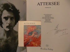 Christian Ludwig Attersee Zeichnung Buch signed signiert autograph Autogramm