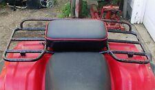 "16"" X 12"" RED REAR RACK SEAT PAD 185s 200s 125m 90 110 ATC HONDA 3 WHEELER ATV"