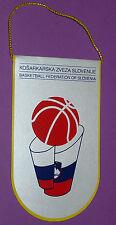 FANION BASKETBALL FEDERATION BASKET SLOVENIE KZS PENNANT WIMPEL
