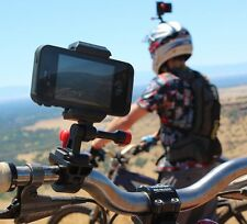 Clip & Velocity HANDLE BAR MOUNT. trasforma il tuo iPhone o Samsung telefono in una GoPro