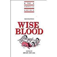 NEW - New Essays on Wise Blood (The American Novel)