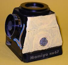 Mamiya RB67 Chimney Finder with Exposure Meter