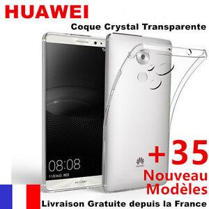 Hülle Case Gel Silikon Übersichtlich Ultradünne für Huawei + 35Modèles