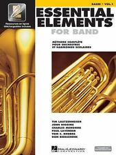 Essential Elements 2000 Plus DVD Basse Book 1 French Language (2009, Paperback)