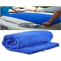 Neu Auto Car Microfiber Towel 60 x 160cm Trockentuch Tuch Reinigungstuch~ S O5C1