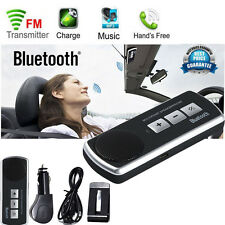 USB Multipoint Bluetooth Speaker For Cell Phone Handsfree Car Kit Speakerphone