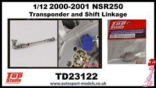 1/12 Honda NSR250 Transponder & Shift Linkage set by Top Studio TD23122