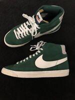 Nike Blazer High Premium Retro Vintage Gorge Green Size 11 RARE!!