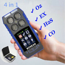 4 in 1 Toxic Gas Detector CO O2 H2S EX Gas Analyzer Quality Monitor Test Meter