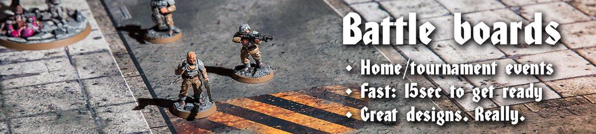 Warzone Studio: Battle mats+terrain