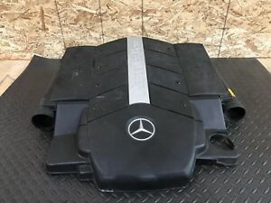 MERCEDES W220 OEM S500 V8 ENGINE MOTOR TOP AIR DUCT MANIFOLD INTAKE FILTER BOX
