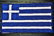 GREECE Greek Country Flag Embroidered PATCH Badge *NEW*