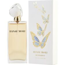 HANAE MORI BLUE BUTTERFLY 1 oz EDP WOMEN EAU DE PARFUM 30ml SPRAY RETAIL 1.0 BOX