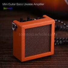 Battery Powered Mini Guitar Bass Ukulele Ukelele Amp Amplifier Speaker X2E7
