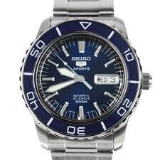 SNZH53J SNZH53 Seiko 5 Sports Automatic WR100M Blue Dial Analog Male Watch